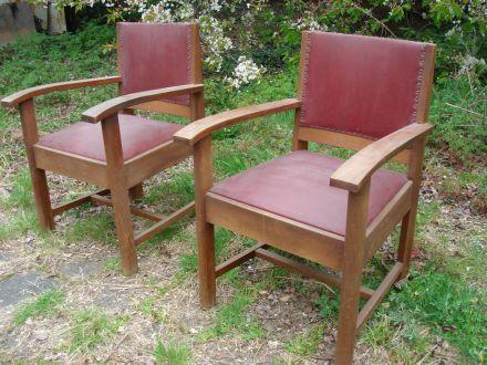 Twee stoelen Haagse school