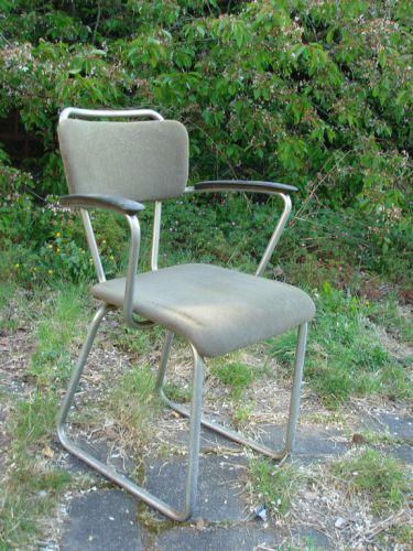 Chroombuis stoel