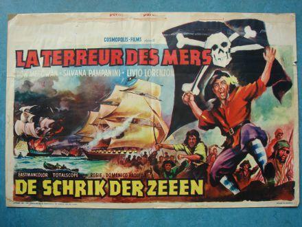"""Film poster """"De Schrik Der Zeeën"""""""