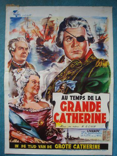 """Film poster """"In De Tijd Van De Grote Catherine"""""""