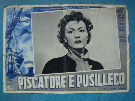 """Film poster """"Piscatore 'e Pusilleco"""""""