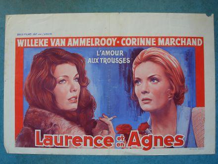 """Film poster """"L'Amour Aux Trousses"""""""