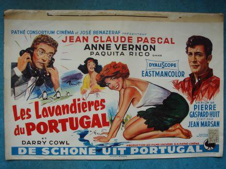 """Film poster """"De Schone Uit Portugal"""""""