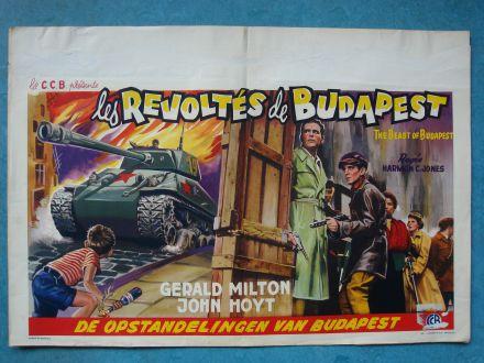 """Film poster """"De Opstandelingen Van Budapest"""""""