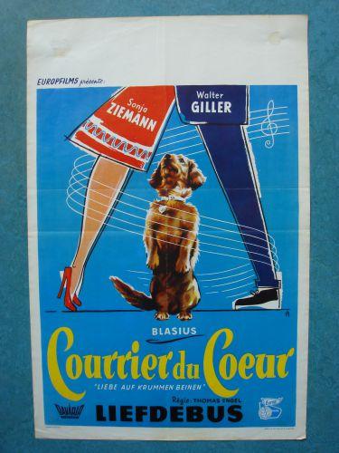"Film poster ""Liefdebus"""