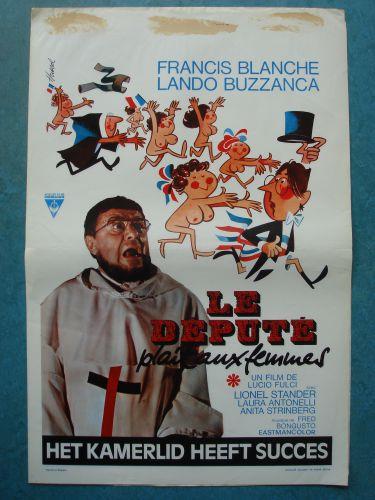 """Film poster """"Het Kamerlid Heeft Succes"""""""