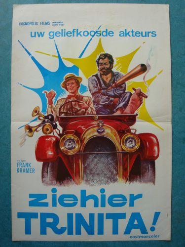 "Film poster ""Zie Hier Trinita"""