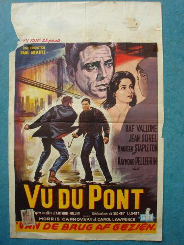 """Film poster """"Van De Brug Af Gezien"""""""