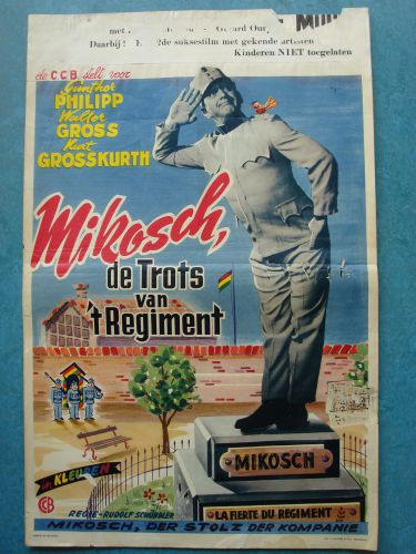"Film poster ""De Trots Van T' Regiment"""