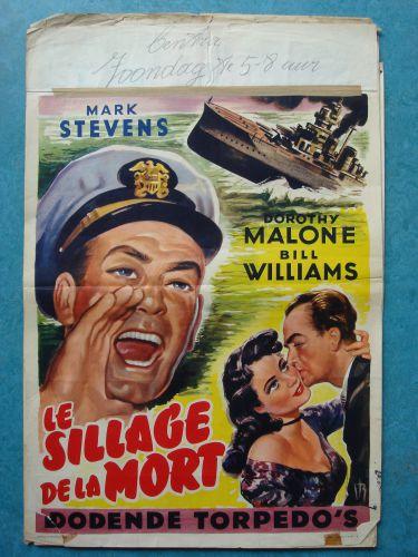 "Film poster ""Dodende Torpedo's"""