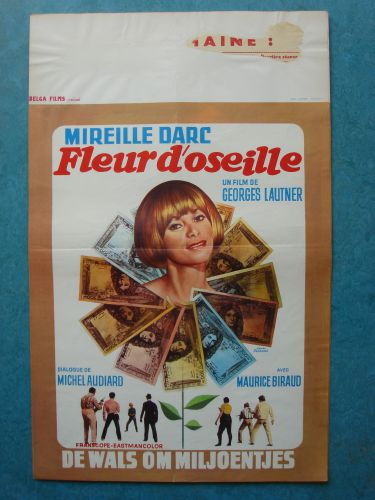"Film poster ""De Wals Om Miljoentjes"""