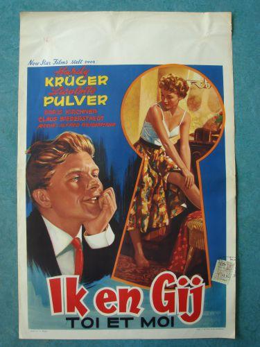 """Film poster """"Gij en Ik"""""""