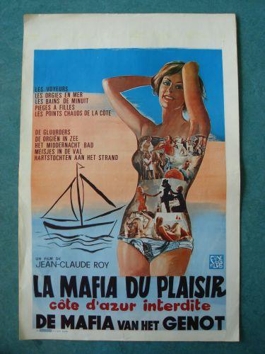 """Film poster """"De Maffia van het Genot"""""""