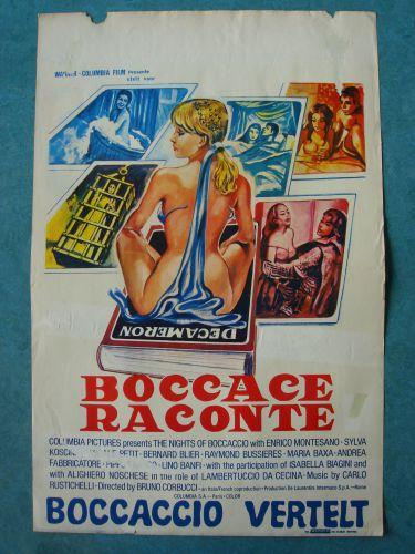 """Film poster """"Boccaccio Vertelt"""""""