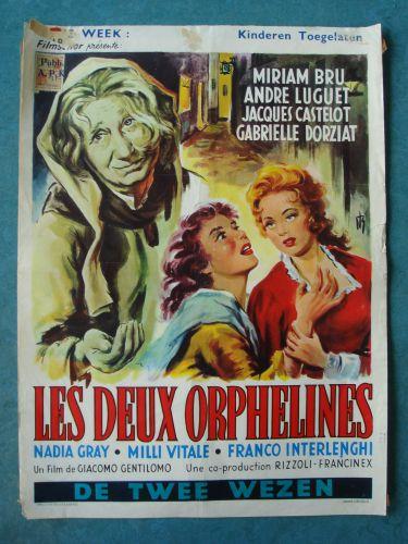 """Film poster """"De Twee Wezen"""""""