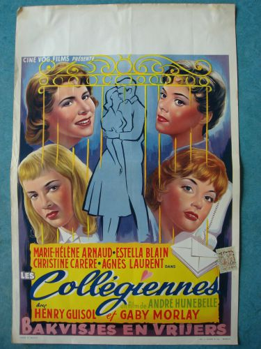 """Film poster """"Bakvisjes en Vrijers"""""""