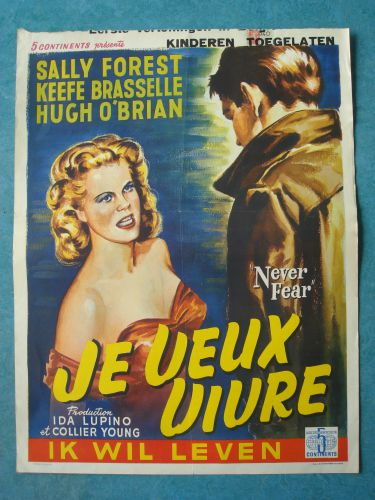 """Film poster """"Ik Wil Leven"""""""