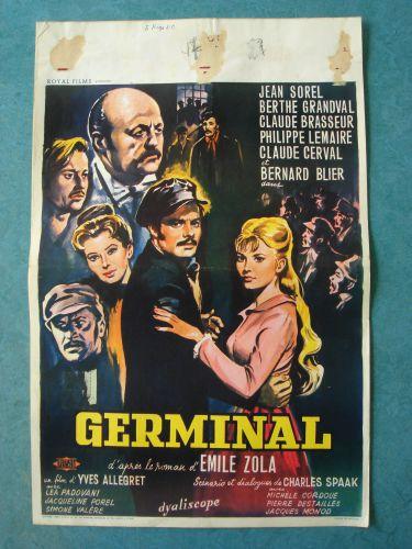 """Film poster """"Germinal"""""""