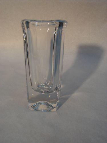 Kristallen gedenk vaas