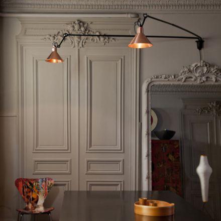 Lampe Gras tafellamp muurlamp No 213 L Double