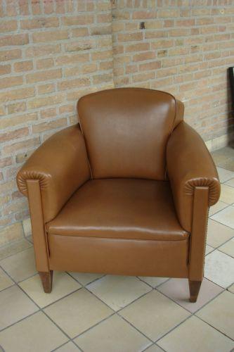 Art deco fauteuil 2x