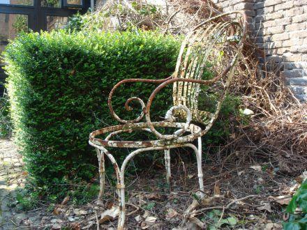 Antieke stoel  1890