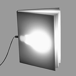 Tafellamp Book Light van Tecnolumen