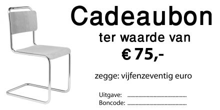 Cadeubon 75 euro