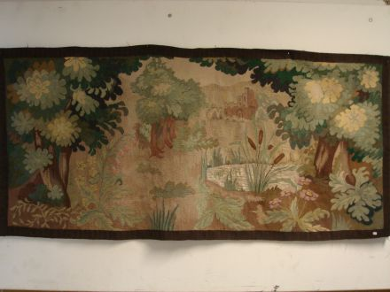 Wandkleed van landschap ± 1930
