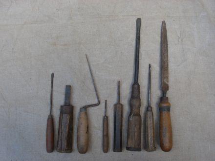Allerlei oud gereedschap