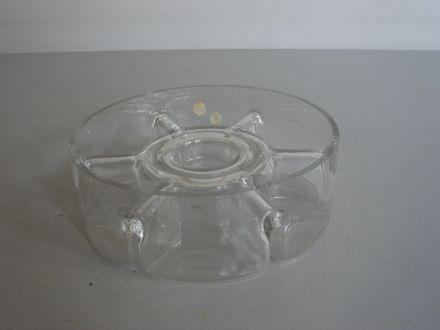 Kristallen schaal  ±1970 Peill Germany