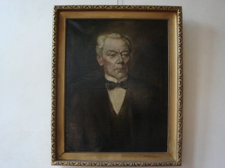 Portret schilderij olieverf