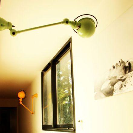 Jieldé wandlamp D4001 -groen