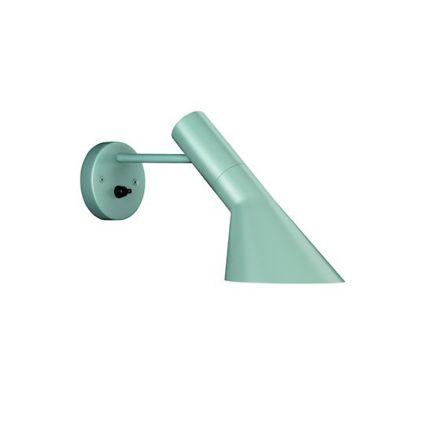Louis Poulsen AJ wandlamp - blauwgroen