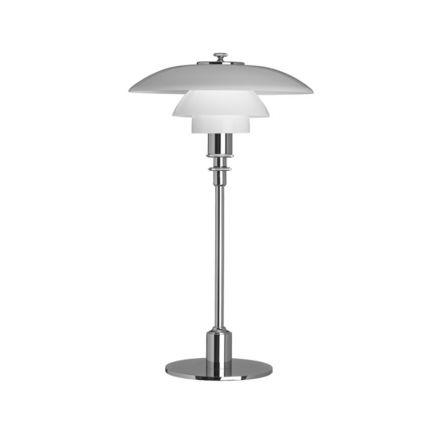 Louis Poulsen PH 2/1 tafellamp verchroomd