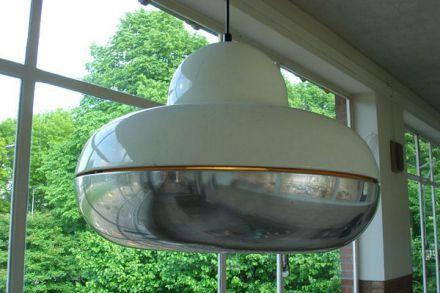 Volumineuze vintage hanglamp