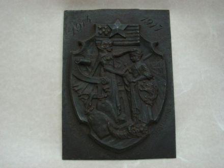 IJzeren Herdenkingstegel ±1920