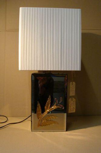 Murano Effetre spiegelglazen lamp