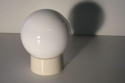 Plafond-/wandlamp glasbol