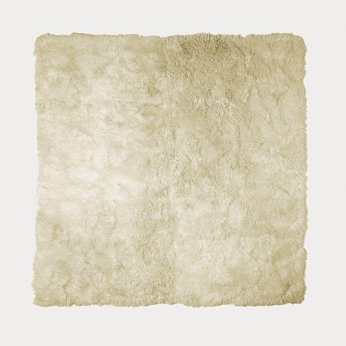Lambert vloerkleed Taiga van lamsvel wit