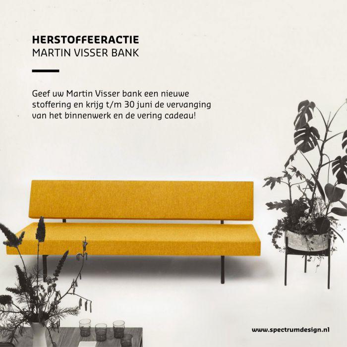 Herstoffeeractie Martin Visser bank t/m 30 juni