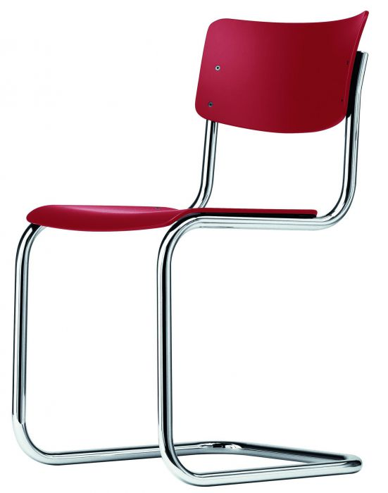 Thonet stoel S43 brown red