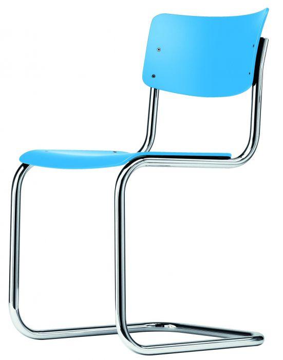 Thonet  stoel S43  water blue