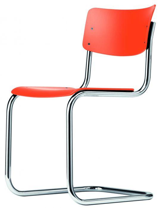 Thonet stoel S43 pure orange