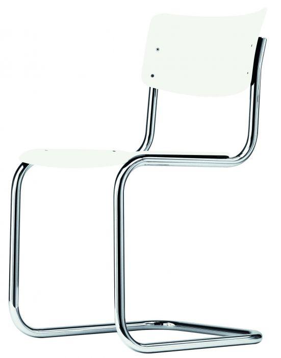 Thonet stoel S43 pure white
