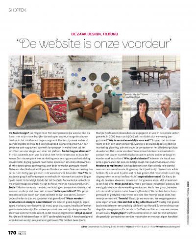 De Zaak design en advies in VT wonen